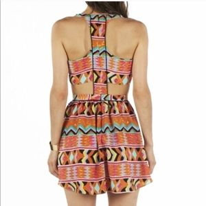 ANTHROPOLOGIE LOVERS + FRIENDS TRIBAL DRESS SIZE L